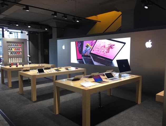 В Україні відкриють перший Apple Shop