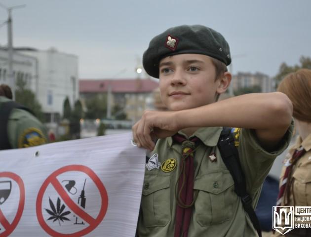 У Луцьку відбувся марш за здоровий спосіб життя. ФОТО
