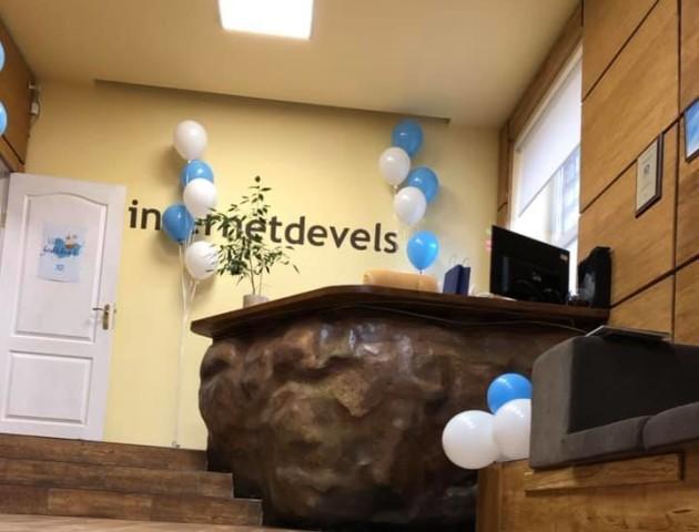 Луцька ІТ-компанія «InternetDevels» відзначає день народження. ФОТО