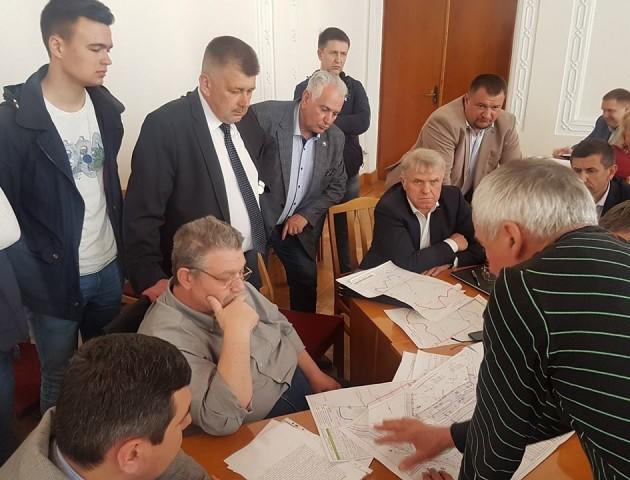 У Волинській ОДА обговорили будівництво об'їзної дороги біля Луцька
