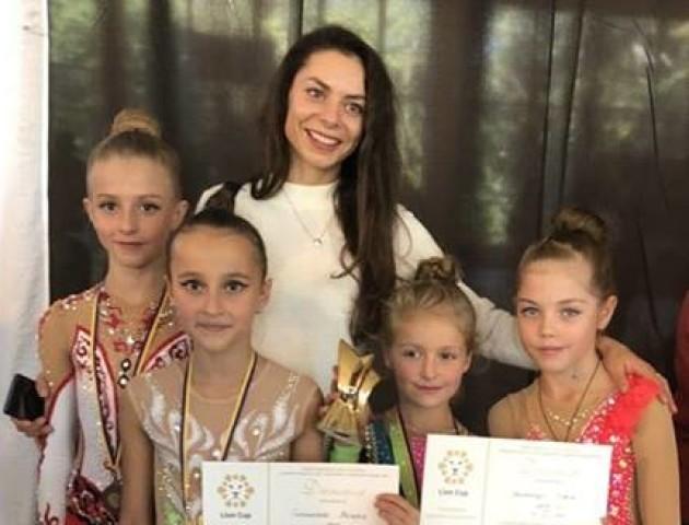 Луцькі гімнастки приїхали з нагородами зі Львова