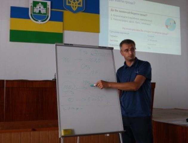 У Любешівській ОТГ обговорили, де взяти гроші на ремонт багатоквартирних будинків