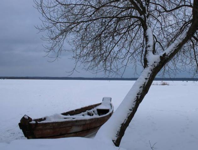 Зимова краса Шацького поозер'я. ФОТО