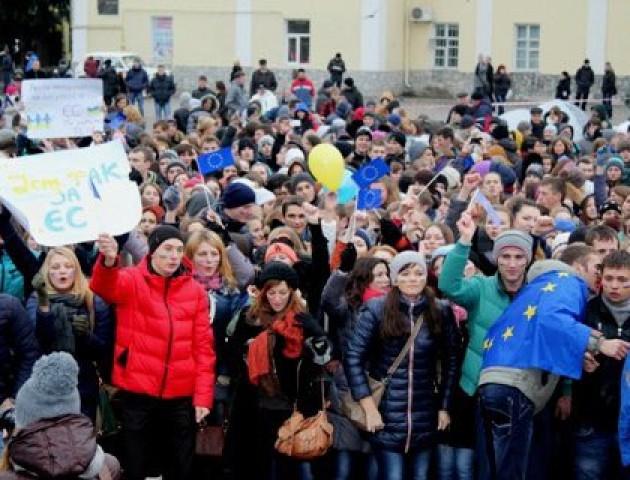 21 о 21: у Луцьку неформально відзначать День Гідності та Свободи