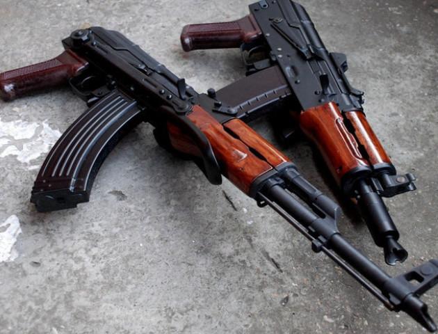Українських військових обстріляли з території Росії