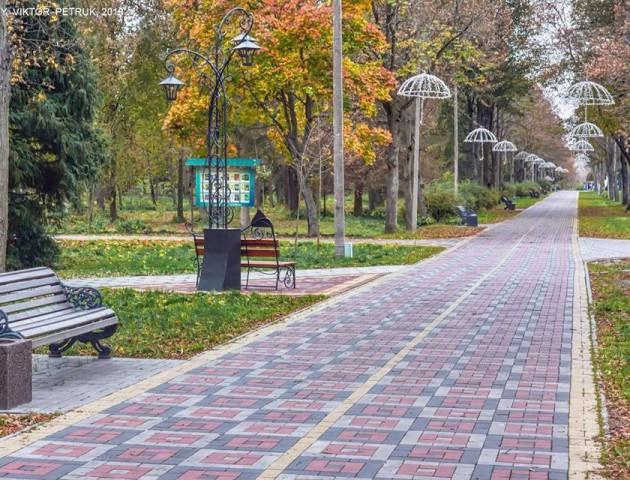 Прогулянка у фото: луцький парк - у пору золотої осені