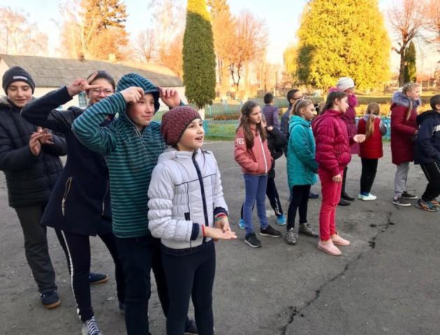 У Крупі провели спортивні змагання для дітей із вадами зору. ФОТО