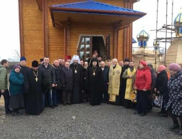 Митрополит Волинський Михаїл освятив Свято-Миколаївський собор у Волновасі