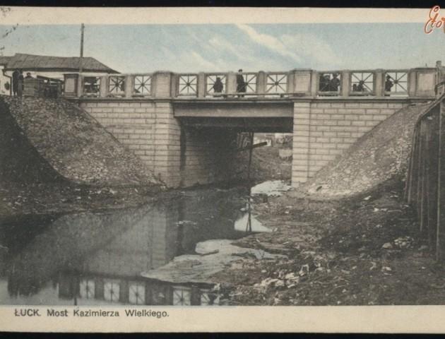 Коли під Братським мостом у Луцьку була вода. РЕТРОФОТО