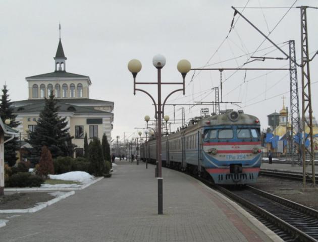 Через ремонт потяг «Ковель-Сарни» не їздитиме 4 дні