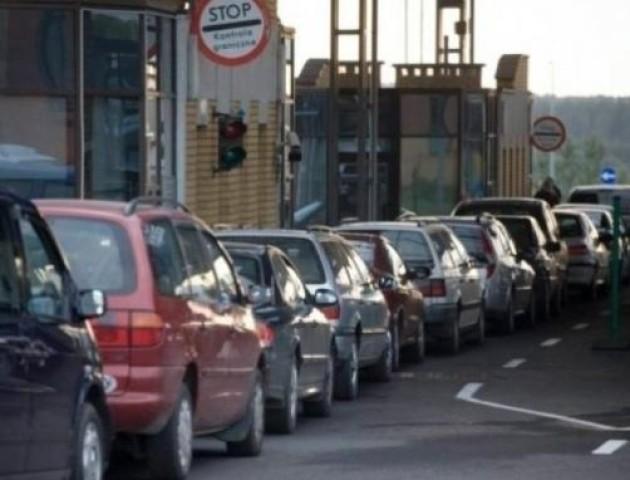 У черзі на кордоні з Польщею - понад 600 автівок