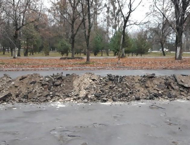 У Ковелі взялися за реконструкцію вулиці. ФОТО