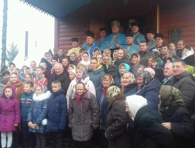 У селі на Волині відсвяткували престольний празник. ФОТО. ВІДЕО
