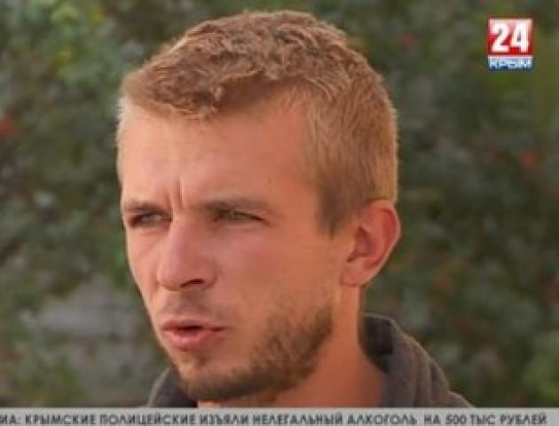 Кримчанин, який грабував лучан, дає брехливі інтерв'ю проросійським каналам