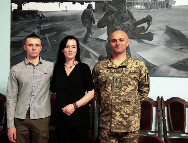 Французька журналістка реабілітуватиме військових у Луцьку