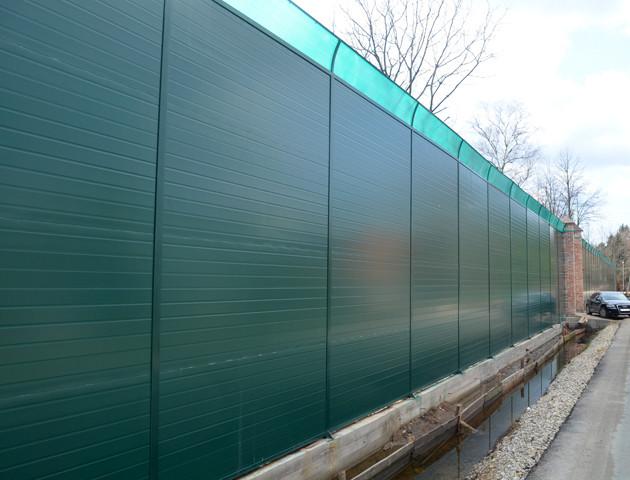 У Луцьку хочуть побудувати шумоізоляційний паркан біля залізниці