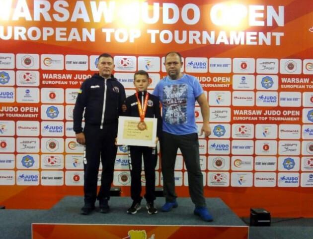 Волинський дзюдоїст виборов бронзову медаль на турнірі у Варшаві