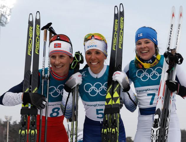 Шведська лижниця виборола перше золото Олімпіади-2018