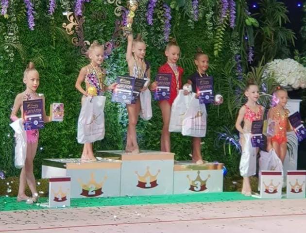 Юні гімнастки з Луцька привезли нагороди з міжнародних змагань. ФОТО