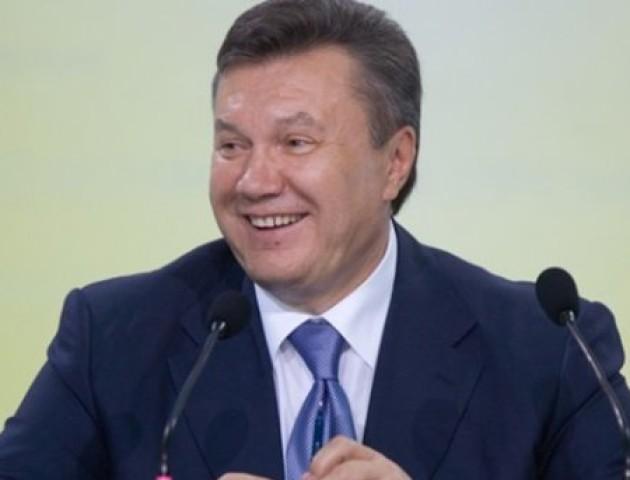 З Януковичем стався конфуз на прес-конференції