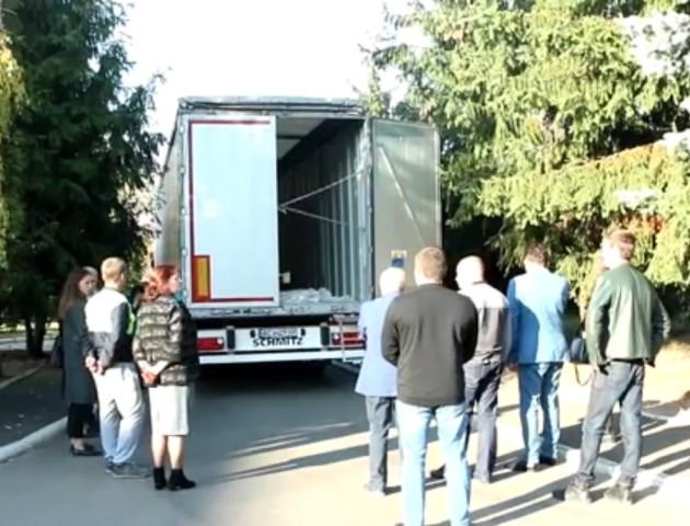Волиняни відправили допомогу для постраждалих від вибухів біля Ічні. ВІДЕО