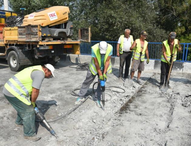 Повідомили, коли завершать ремонт мосту на Ковельській у Луцьку