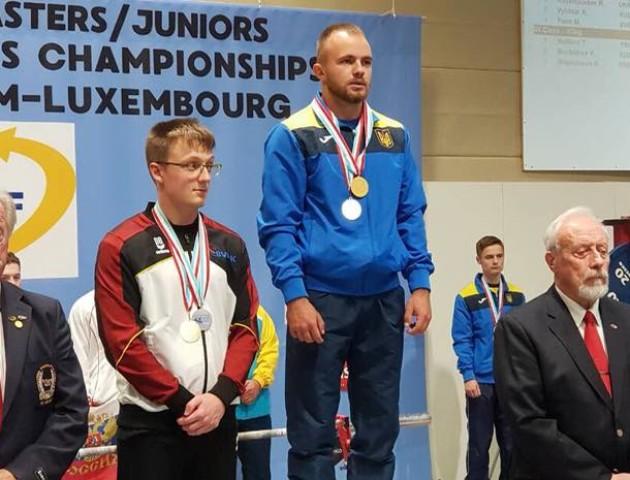 Лучанин  став чемпіоном Європи з жиму лежачи. ФОТО. ВІДЕО