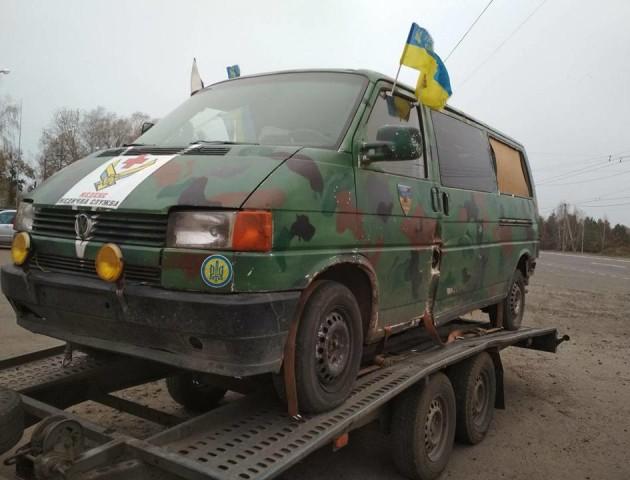 Автомобіль з фільму «Кіборги» передадуть у волинський військовий музей. ФОТО