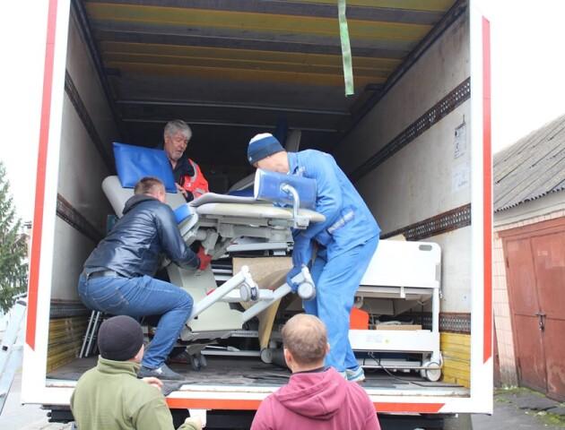 Ковельська лікарня отримала медичне обладнання з Німеччини