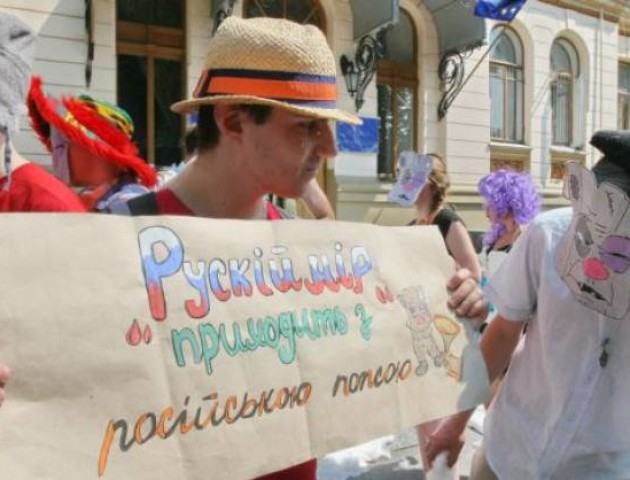 На Львівщині заборонили публічно використовувати російськомовні пісні і фільми