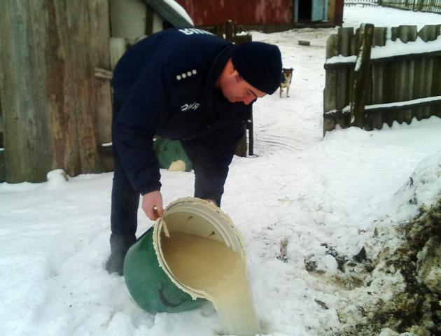 Житель Волинської області був оштрафований за брагу