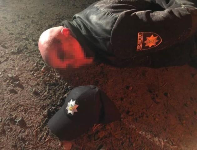 Як затримували «поліцейских», які готували напад на волинянина. ВІДЕО