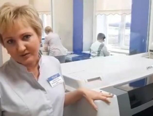 Ковельська лікарня отримала нове обладнання, яке є лише в декількох медзакладах України