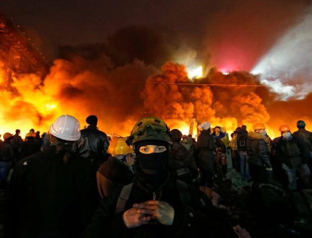 Нічний штурм Майдану, як це було. ФОТО