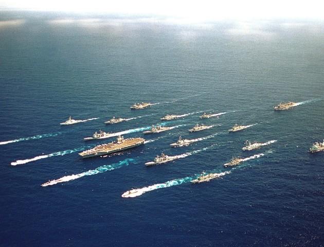Ударна група ВМС США висунулася до Середземномор'я