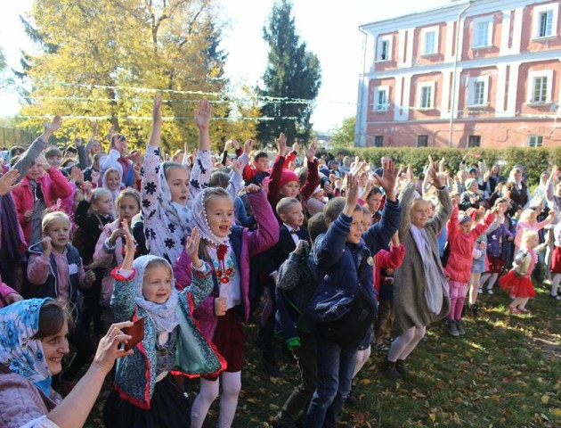 У Луцьку вперше відбувся фестиваль недільних шкіл. ФОТО