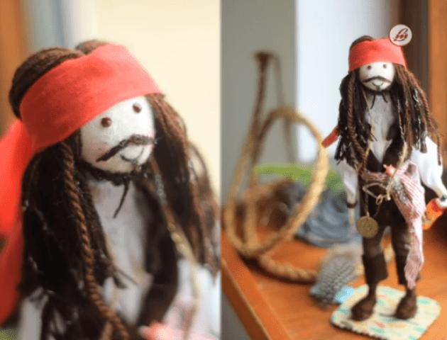 Джамала, Олег Винник та Джоні Депп: лучанка робить ляльки з фото знаменитостей. ВІДЕО