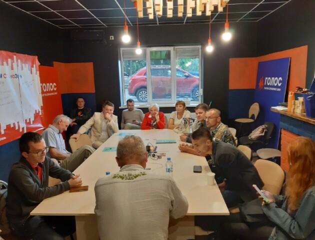 «Я патріот? А Ринат Ахметов?»: у луцькому Коворкінгу змін говорили про любов до України