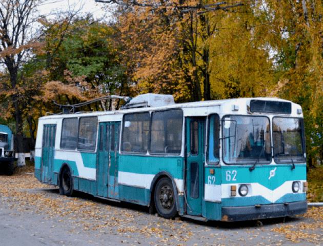 Лучани підтримали петицію про створення тролейбуса-музею