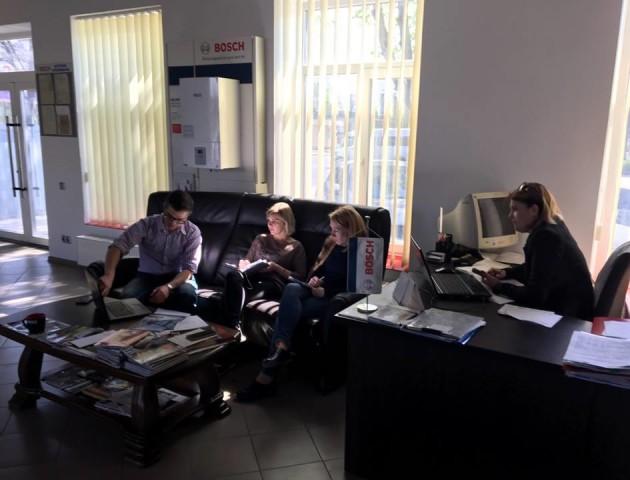 В компанії «БОШ–ТЕПЛО» провели тренінги для вдосконалення обслуговування клієнтів