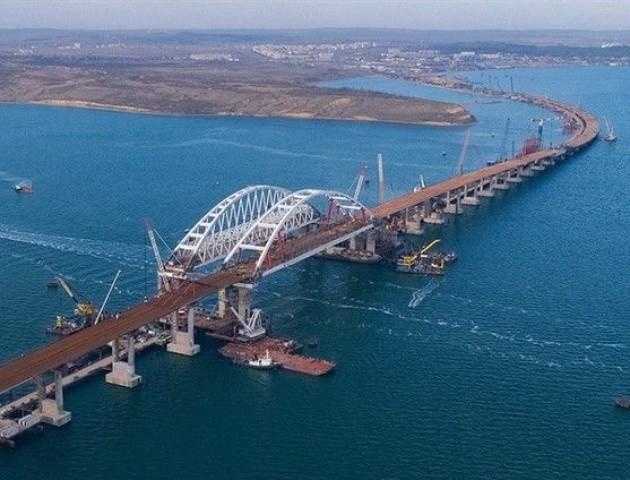 На Кримському мосту - непередбачувані проблеми