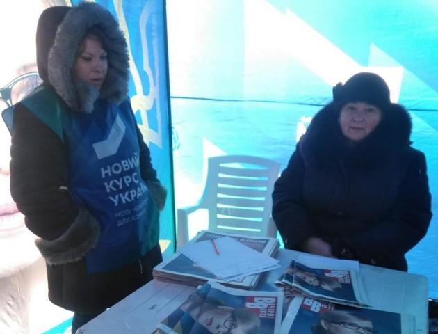 У Луцьку збирали персональні дані прихильників Порошенка, Тимошенко і Кошулинського