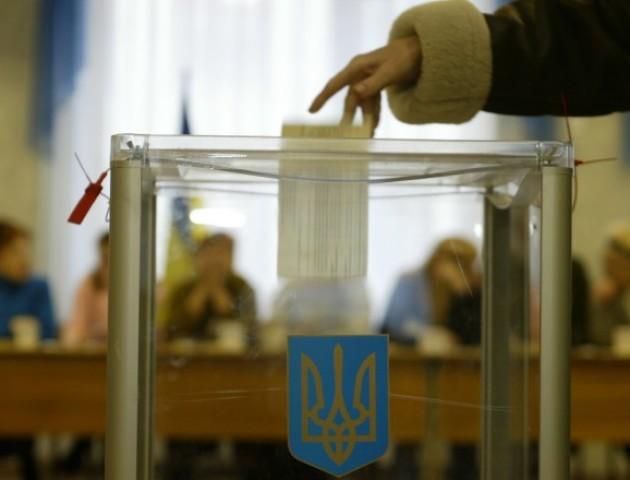 Визначили межі округів, на яких волиняни голосуватимуть за Президента