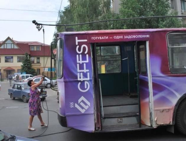 Луцькі тролейбуси намагатимуться зробити автономними