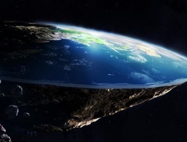 Вчені розповіли, що необхідно для того, щоб Земля стала плоскою