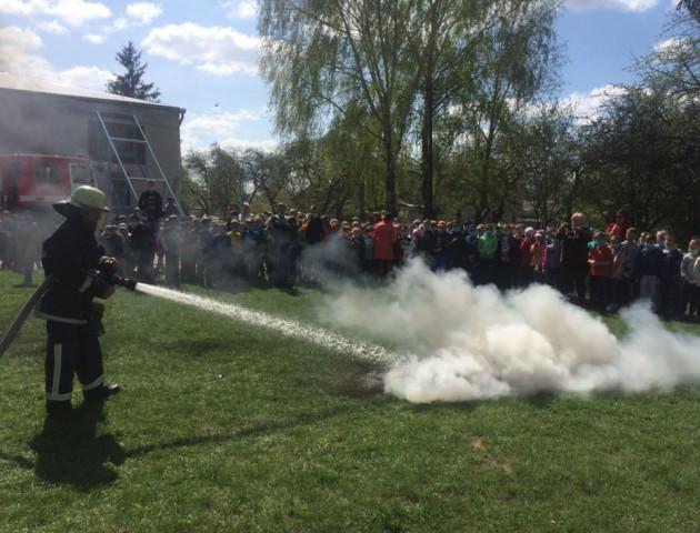 У Володимирі з однієї із шкіл міста евакуювали учнів та персонал