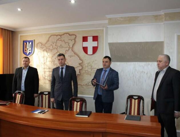На Волині представили нового керівника СБУ Данюкова