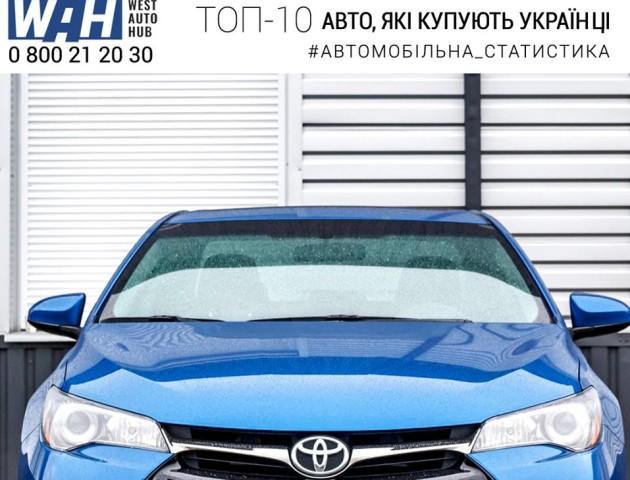 Які марки авто люблять українці