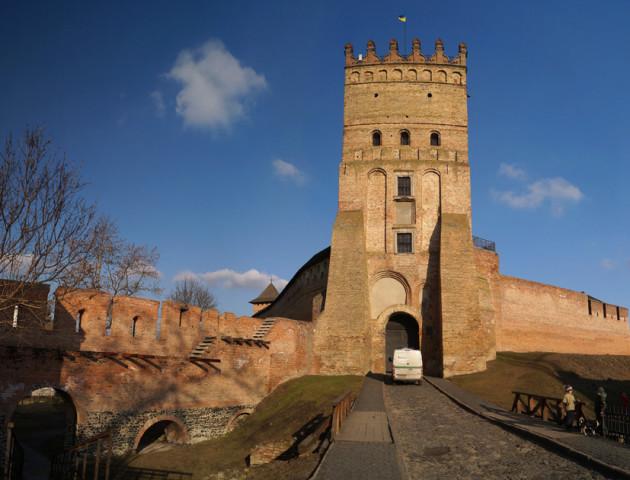 Луцький замок у ТОП-10 замків України, які має побачити кожен