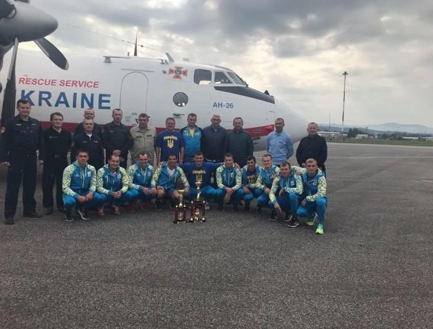 Волинські рятувальники –  серед призерів на Чемпіонаті світу